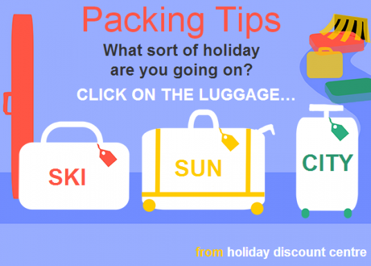 packing tips for beach holiday