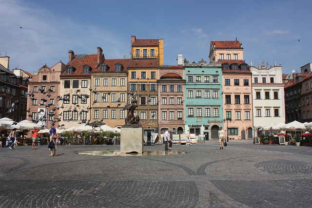 Town Square in Warsaw
