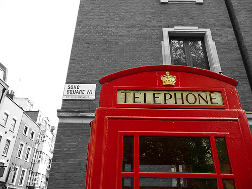 london phone box via malias