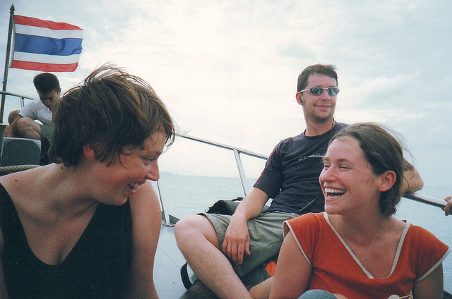 backpackers in thailand - via flickr by Exile on James Street
