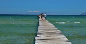 majorca jetty beach