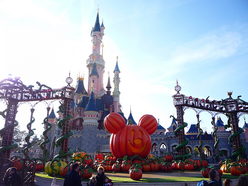 Disneyland Halloween by Saturne