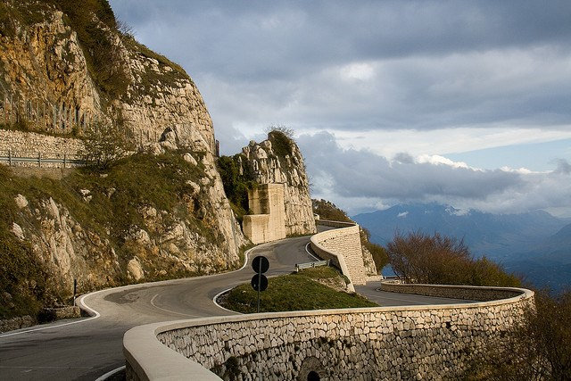 Italy Winding Road by Matthew Townsend via Flickr