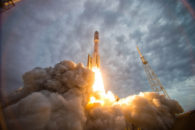 Rocket Launch by Official U.S. Navy Imagery via Flickr