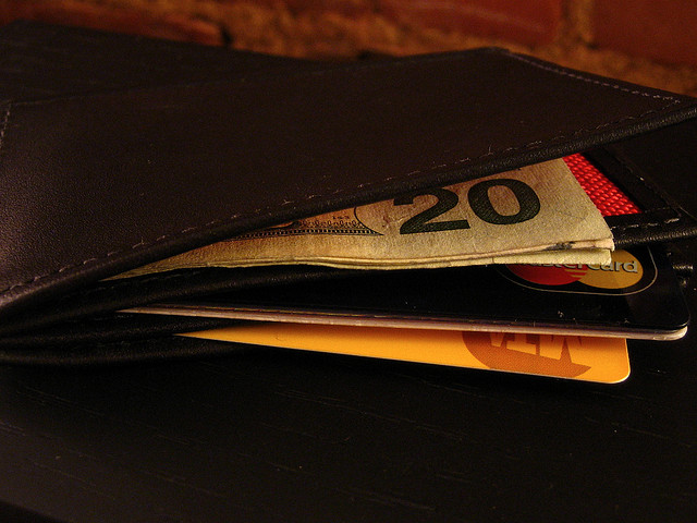 Wallet with Money by Dyobmit via Flickr