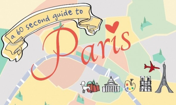Holiday Time Saver: 60 Second Guide to Paris