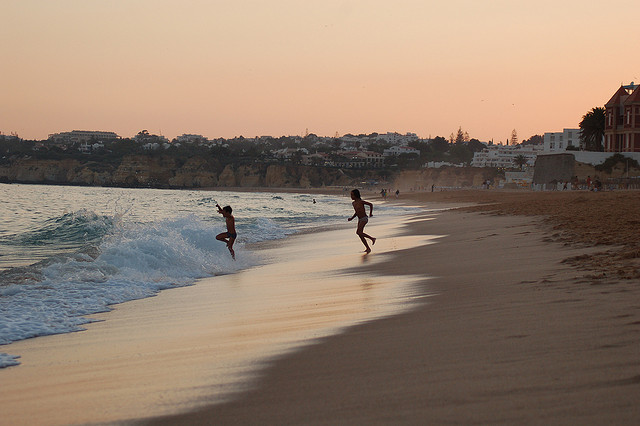 Algarve beach by Jamie John Davies via Flickr