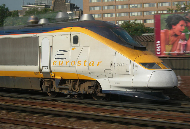 Eurostar by Mike Knell via Flickr
