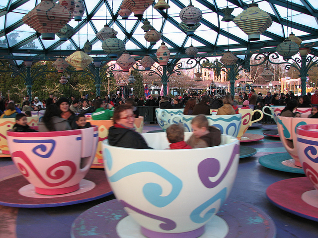 flickr- mad hatter's tea cups by roller coaster philosophy