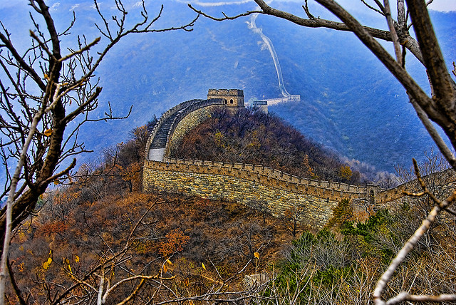 great wall of china - via flickr by francisco diez