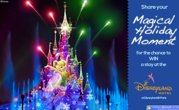 Magical Holiday Moments: Win 2 Nights at the Disneyland Hotel in Paris