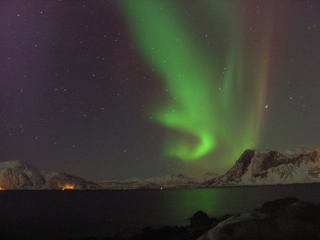 northern lights iva flickr by arctic norway