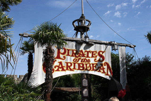 pirates of the caribbean via flickr by wrayckage