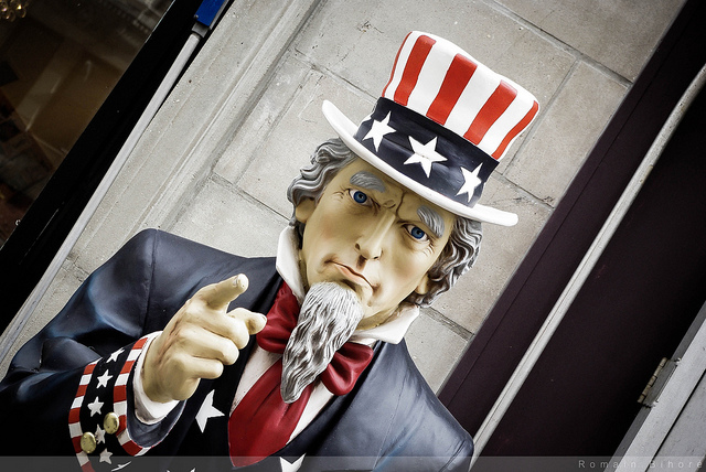 uncle sam via flickr by RomainBihore