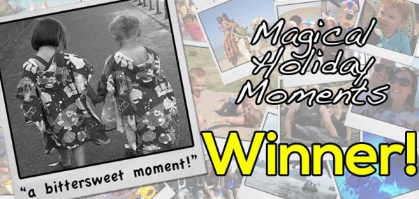 The Winner of our Disneyland Paris Competition is…