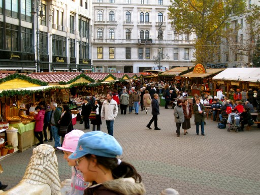 Budapest Christmas Market by TopBudapestOrg via Flickr