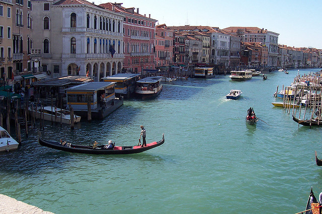 Grand Canal in Venice by N_Willsey via Flickr