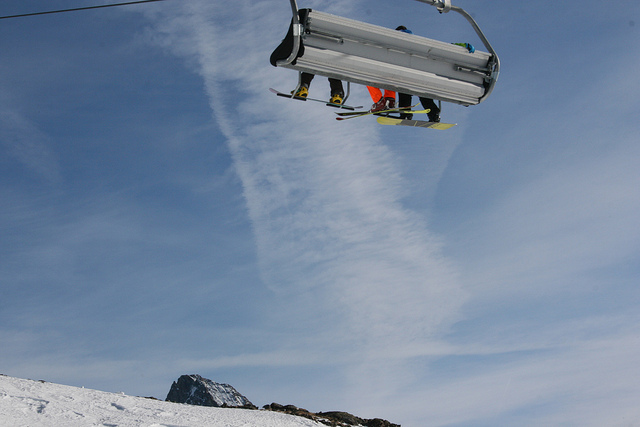 Ski Lift by Kim McKelvey via Flickr