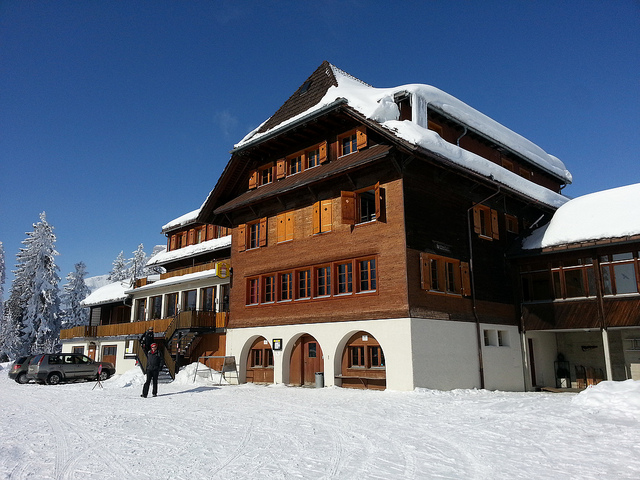 Ski Lodge by Goodjon via Flickr