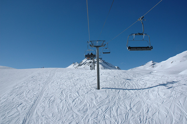 Lifts are open in Tignes