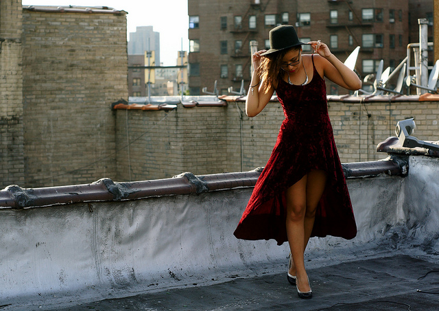 fashion rooftop via flickr by simplyabbey
