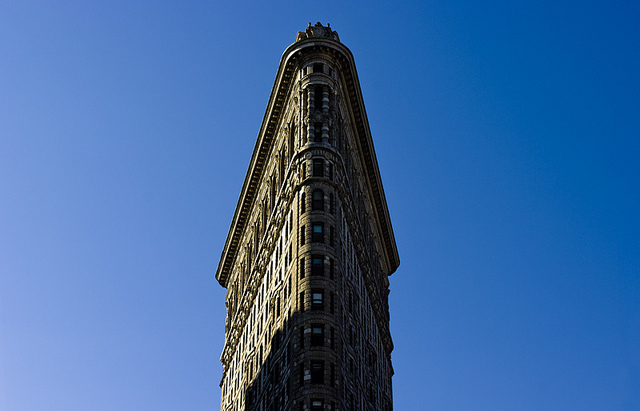 flatiron building via flickr by phil grondin