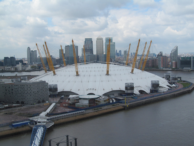 O2 Arena by fsse8info via Flickr