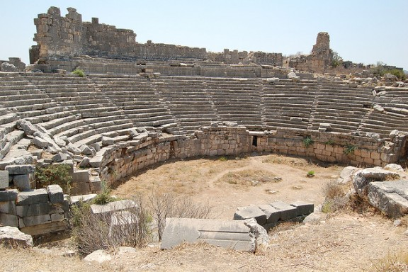 Roman Amphitheatre in Xanthos by Atolath via Flickr
