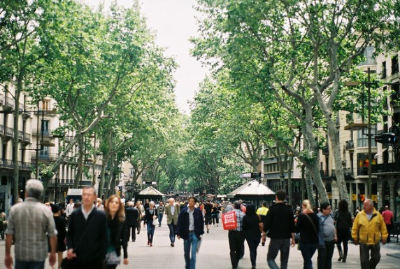 la rambla via flickr by stephanie overton