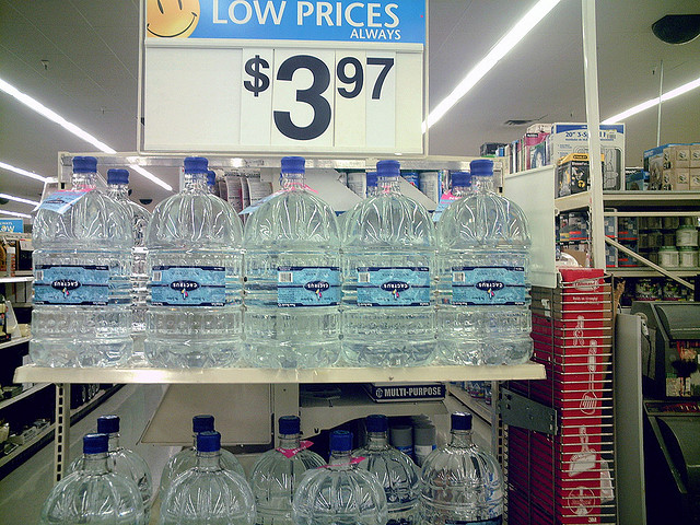 Bottled Water by Clean Wal-Mart