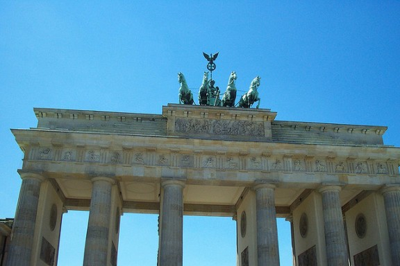Brandenburg Gate by Ryan Poplin via Flickr