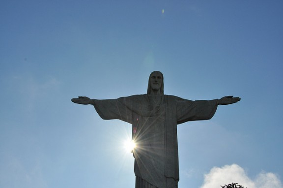 Christ the Redeemer statue in Rio by Over_Kind_Man via Flickr