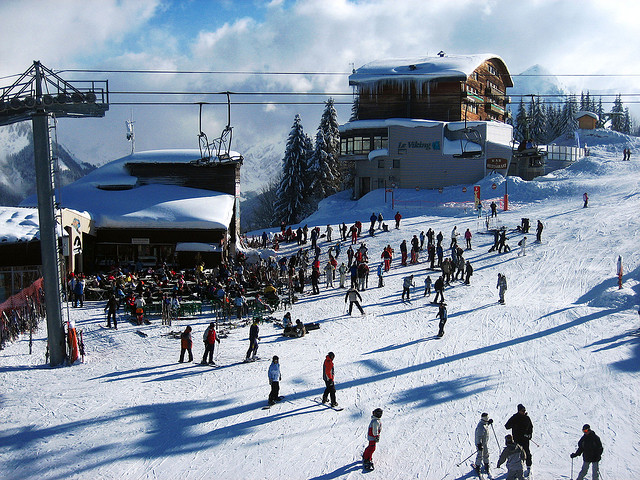 Cheap skiing - Morzine ski resort France