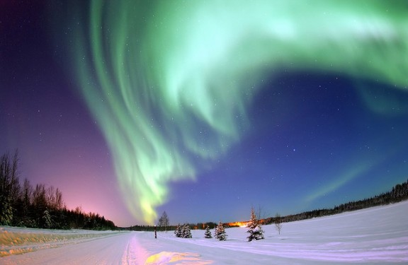 Northern Lights by Beverly & Pack via Flickr