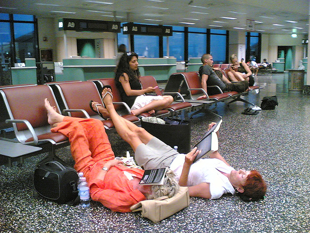 Waiting at Airport by Dam via Flickr