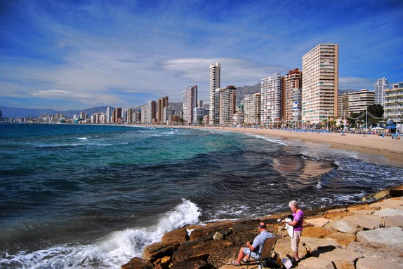 benidorm via flickr by 8mm & Other Stuff