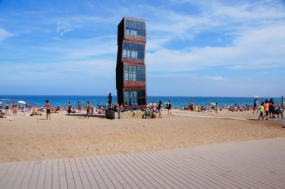 Barcelona Beach by Twicepix via Flickr