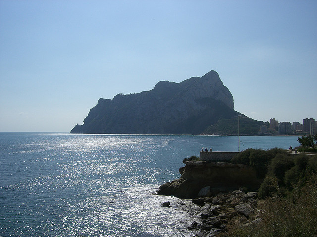Calpe Rock by MoonSoleil via Flickr
