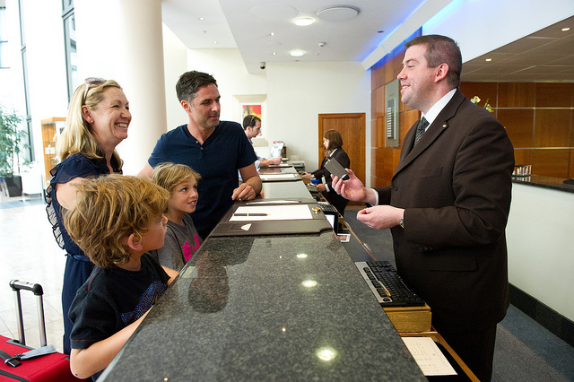 Hotel Check in by Holidayextras via Flickr