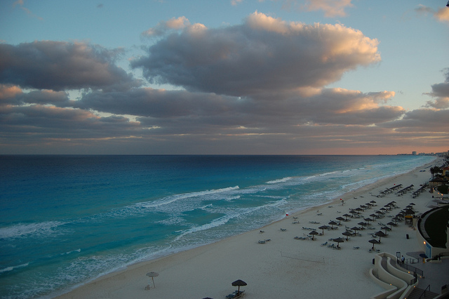 cancun coast via flickr by jthetzel