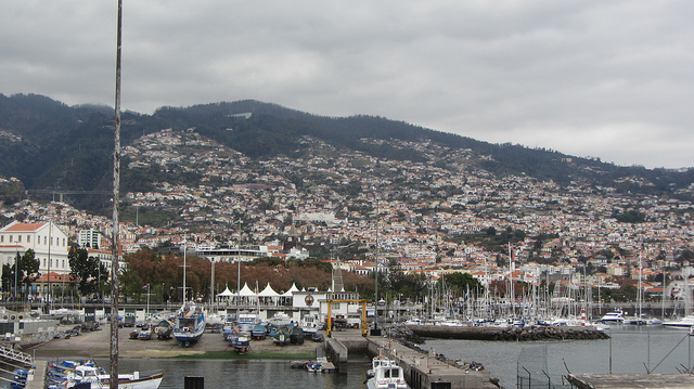 Funchal Harbour by jodastephen via Flickr