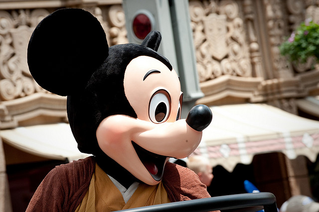 Mickey Mouse by Hyku via Flickr