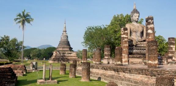 Sukothai in Thailand by Stefan Magdalinski via Flickr