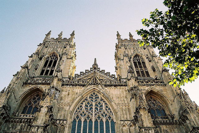 york cathedral via flickr by Martin Pettitt