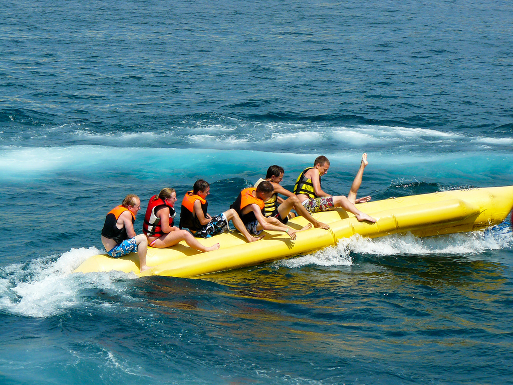 Marmaris Banana Boat by Martijn Russchen via Flickr