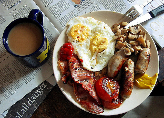 dirty old fry up via flickr by Preater