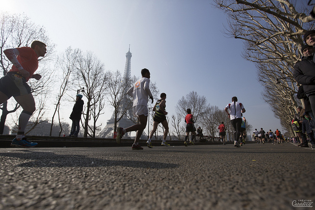 paris marathon via flickr by Création CARAVEO