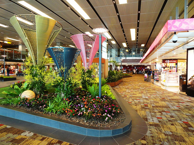 Changi Airport by Fabio Achilli via Flickr