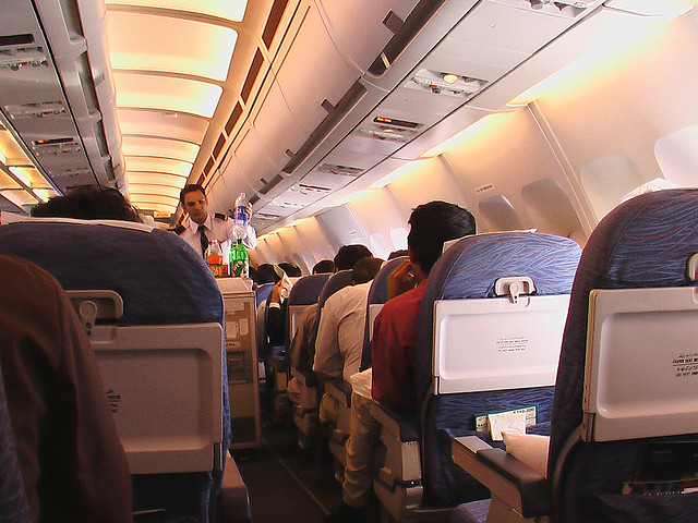 Inside Plane by Kashif Mardani via Flickr