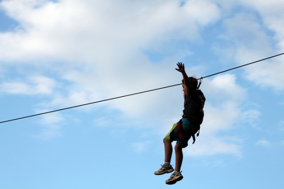 Zipline by flowcomm via Flickr